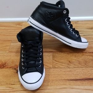 Converse Leather Chuck Taylor Hightop Sneakers